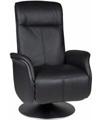 DUO Collection Relaxsessel mit integrierter Fußstütze Duocollection 230 (=schwarz)