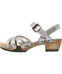 Softclox JANE Clogs taupe/silber