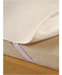 hessnatur Moltonauflage aus reiner Bio-Baumwolle