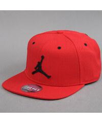 Jordan Jumpman Snapback červená (basketbal)