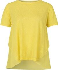 Anonyme Designers T Shirt aus Materialmix Sandra