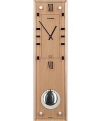 Nástěnné kyvadlové hodiny Twins 9048 light 45cm
