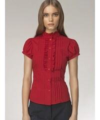 Nife Dámská košile k26_red