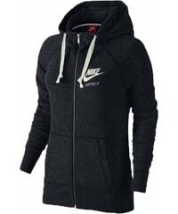 Nike GYM VINTAGE FZ HOODIE černá L