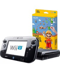 NINTENDO WIIU Wii U Premium Pack + Super Mario Maker Konsolen-Set mit 3 Jahren Garantie*