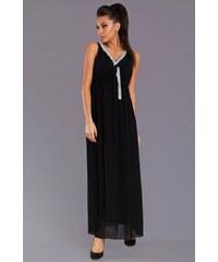 Společenské šaty dlouhé - černé