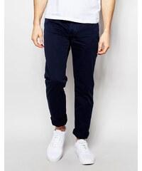 United Colors of Benetton - Schmal geschnittene Hose mit 5 Tasche - Blau
