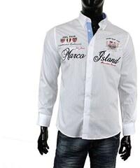 8db072d5cfd JEEL košile pánská 1316 vyšívaná