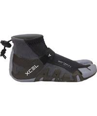 Xcel Infiniti Split Toe 1mm Neopren Schuhe Neoprenschuhe black/grey