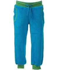 O'Style Dětské fleecové kalhoty - neon blue