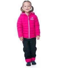 O'Style Dívčí zateplená bunda - růžová