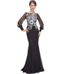 Dámské elegantní Ever Pretty plesové šaty černé 8363 436af01673