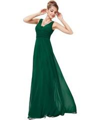 Ever Pretty plesové šaty elegantní zelené 8110 e76e4bb349