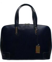 Kožená kabelka Sacca 07L tmavě modrá