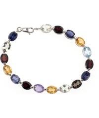 a-diamond.eu jewels s.r.o. (CZ) Náramek stříbrný s přírodními drahokamy snr338