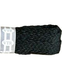 VTR Polyesterové ploché tkaničky - černá cm