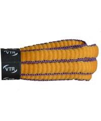VTR Sportovní peckové tkaničky - žlutá cm