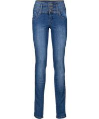John Baner JEANSWEAR Jean extensible ventre jambes fessiers remodelés SLIM, T.C. bleu femme - bonprix