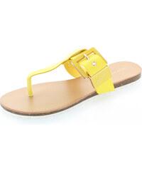 Ideal Žluté pantofle Salva