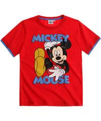Disney Mickey T-Shirt rot in Größe 98 für Jungen aus 100% Baumwolle