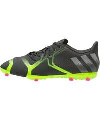 adidas Performance ACE 16+ TKRZ Fußballschuh Multinocken core black/night metallic/solar green
