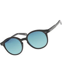 Wood Fellas Solln lunettes de soleil black/mirror blue
