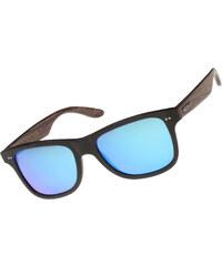 Wood Fellas Lehel lunettes de soleil black/mirror blue