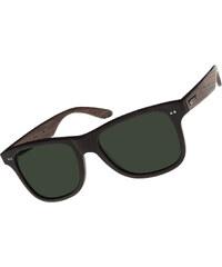 Wood Fellas Lehel lunettes de soleil black/green