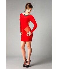 ME-SEDUCE Erotické šaty Sofia červené