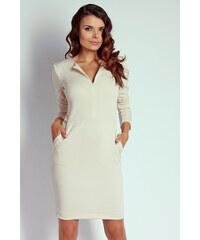 Naoko Béžové šaty AT9