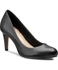 Halbschuhe CLARKS - Carlita Cove 261146774 Black Leather