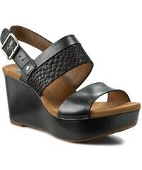 Sandalen CLARKS - Caslynn Kat 261167964 Black Combi Lea