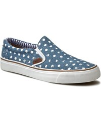 Tenisky PEPE JEANS - Alford Denim Dots PLS30328 Washed Navy 576