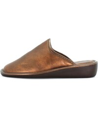 J. Ortega Chaussons 108 - chaussons ouvert coin bronze
