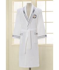 Soft Cotton Luxusní pánský župan MARINE v dárkovém balení S Bílá