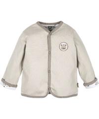 G-mini Dětský oboustranný kabátek Medvídek - béžový