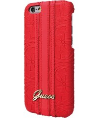 Pouzdro / kryt pro Apple iPhone 6 / 6S - Guess, Heritage Back Red