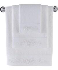 Soft Cotton Bambusový ručník MASAL 50x100 cm Bílá