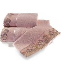 Soft Cotton Malý ručník LALEZAR 32x50 cm Starorůžová