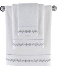 Soft Cotton Bambusový ručník BARON 50x100 cm Bílá