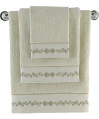 Soft Cotton Bambusový ručník BARON 50x100 cm Béžová