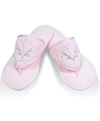 Soft Cotton Dámské bambusové pantofle RUYA 26 cm (vel.36/38) Růžová