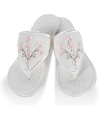 Soft Cotton Dámské bambusové pantofle RUYA 26 cm (vel.36/38) Smetanová