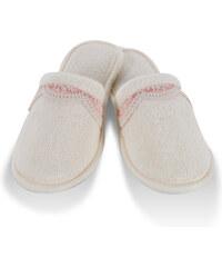 Soft Cotton Dámské pantofle BUKET 26 cm (vel.36/38) Krémová