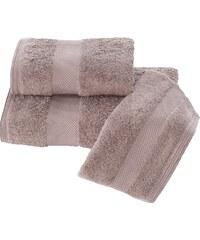 Soft Cotton Luxusní ručník DELUXE 50x100cm Tmavě hnědá
