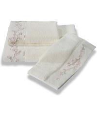 Soft Cotton Bambusový malý ručník RUYA 32x50cm Smetanová