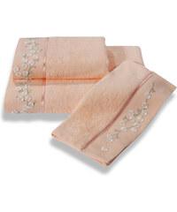 Soft Cotton Bambusový malý ručník RUYA 32x50cm Lososová