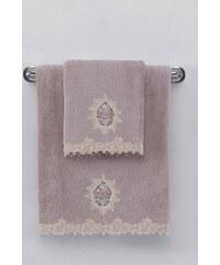 Soft Cotton Malý ručník DESTAN 32x50cm Fialová / Lila