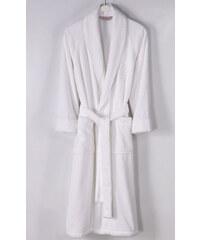 Soft Cotton Modalový župan DELUXE pro muže i ženy S Bílá