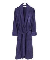 Soft Cotton Modalový župan DELUXE pro muže i ženy S Tmavě modrá